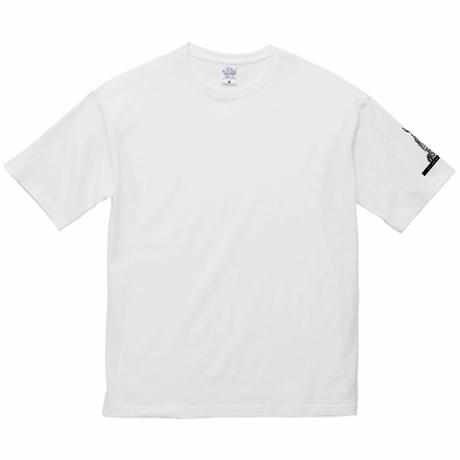 【LOVE CREW】選べる柄とサイズ  ユニセックスビッグデザインTシャツ-うさぎa【送料無料】