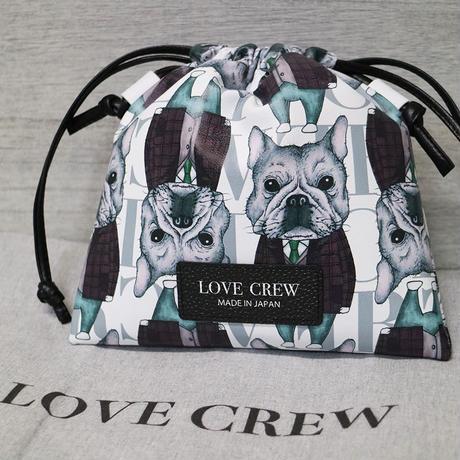 【LOVE CREW LUXE】ミニドローストリングショルダー/01