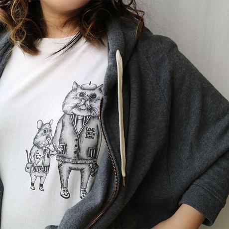 LOVE CREW ユニセックスTシャツ【送料無料】