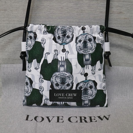 【LOVE CREW LUXE】ミニドローストリングショルダー/03