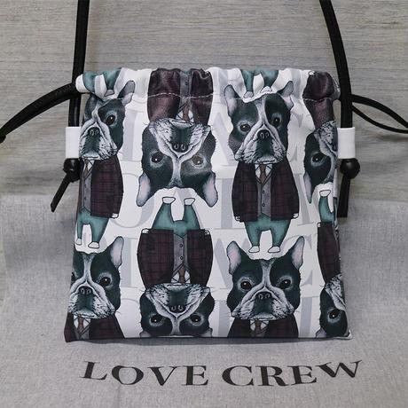 【LOVE CREW LUXE】ミニドローストリングショルダー/02