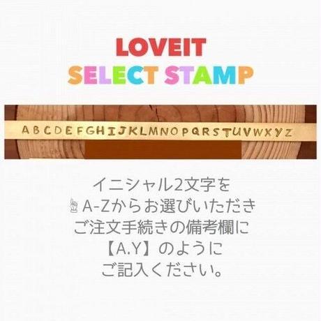 【イニシャル刻印&チェーン付き】クロスネックレス