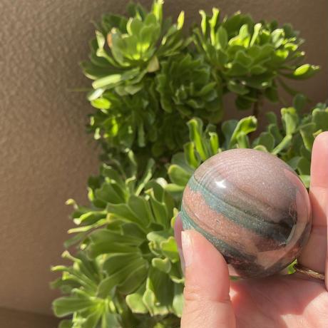 小直径5.8センチ 丸玉ジャスパー