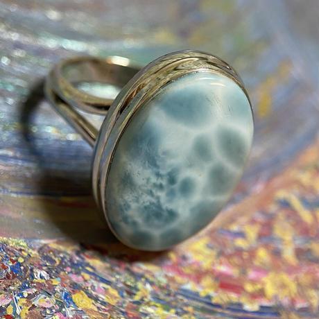 ラリマーリング 指輪16号