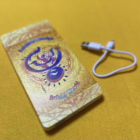 モバイルバッテリー10000mAh RaichiARTDesign