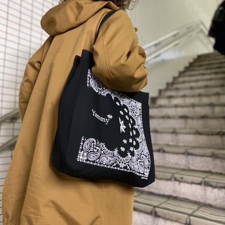 Black Tote Bag for Yammy* by IMMIGRANT WORKS