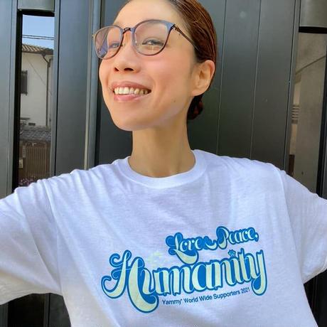 2021年度版 Yammy* World Wide Supporters Tシャツ