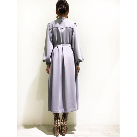 Graphpaper Satin Puff Sleeve Dress