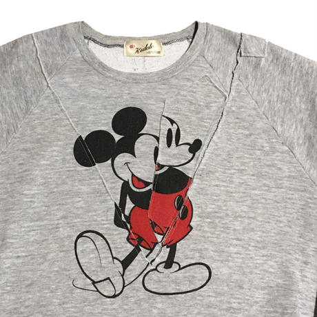 Kidole. VINTAGE MICKEY REMAKE SWEAT SHIRTS