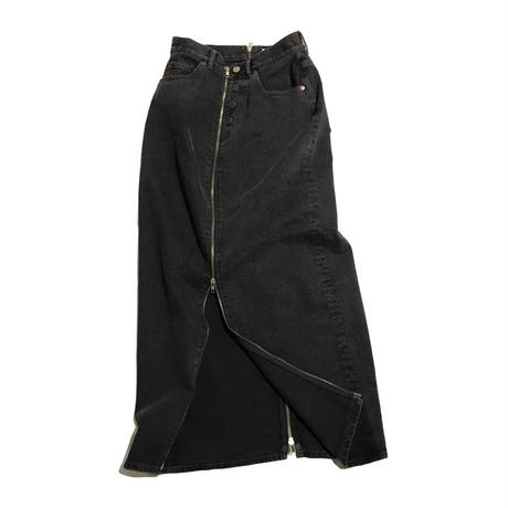 k3&co. ZIP DENIM SKIRT