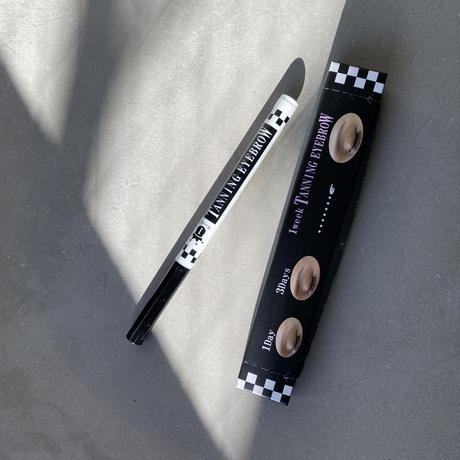 タンニングアイブロウ| 1week tanning eyebrow