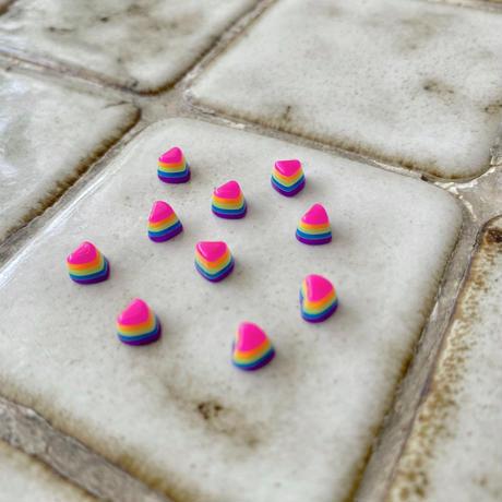 パーツセット(Rainbow Heart)
