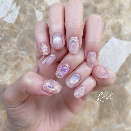 パーツセット(Aurora pinkblue)