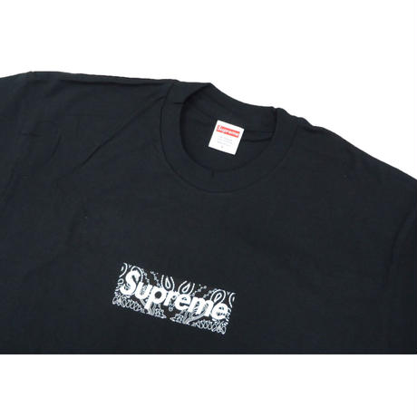 Supreme Bandana Box Logo Tee Black