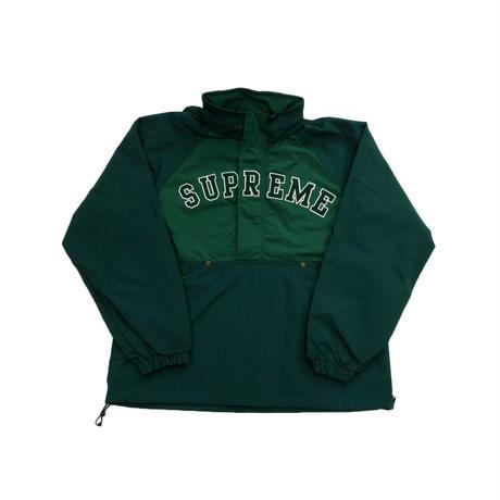Supreme Court Half Zip Pullover (Dark Green)
