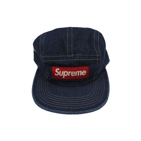 Supreme Washed Chino Twill Camp Cap (SS19) Denim