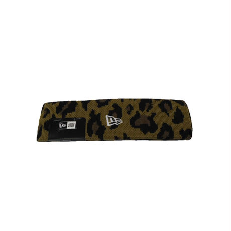Supreme New Era Big Logo Headband (Leopard)