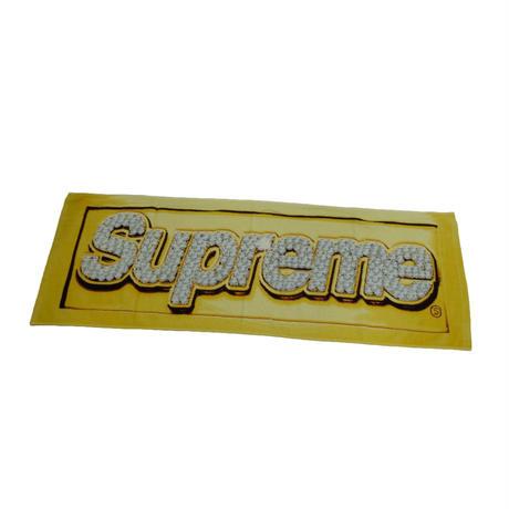 Supreme  Bling Logo Mini Towel