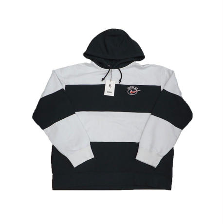 Supreme Nike Stripe Hooded Sweatshirt Black