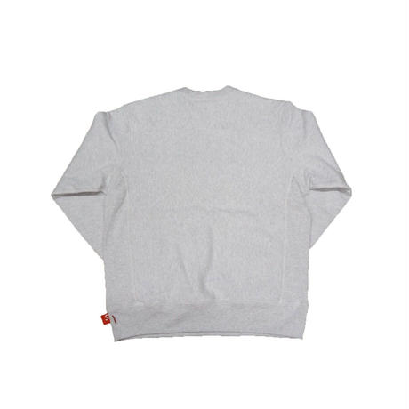 Supreme Box Logo Crewneck Ash Grey