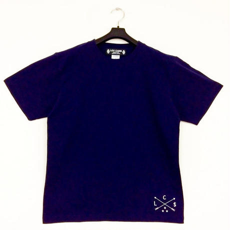 Original Logo T-shirt C One-Point  Navy(XXL~3L)