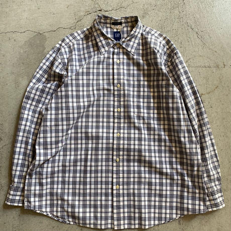 Old Gap check  shirt. XL
