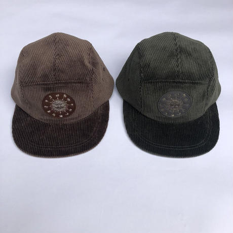 -NOROLL- earth light cap brown&olive.