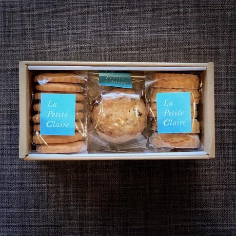 クッキーセット C:バニラ/塩マカダミア/ラム