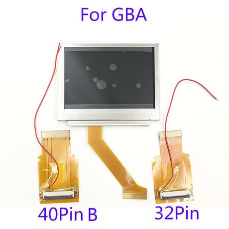 GBAゲームボーイアドバンス専用バックライト交換液晶 32ピン、4ピン 純正ゲーム機を快適な環境に