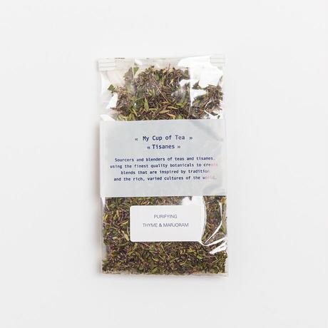 My Cup of Tea    Thyme & Marjoram