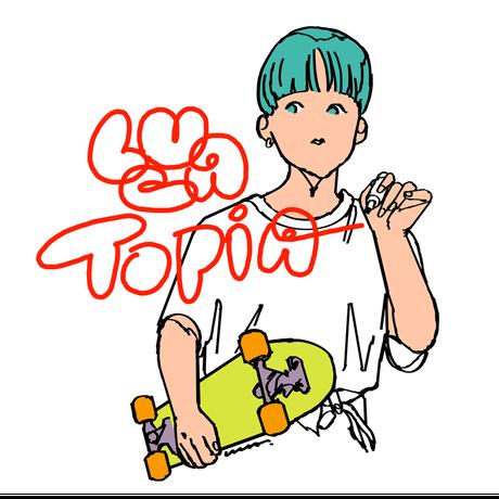 LUCA TOPIAトートバッグ(LUCATOPIA TOTE BAG)