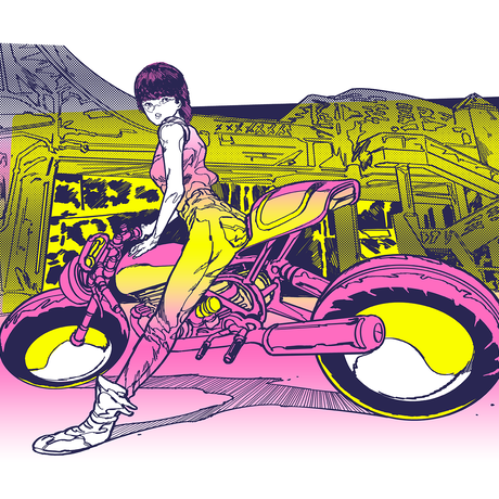 Risograph Print  06Hiroko(リソグラフ06ヒロコ)