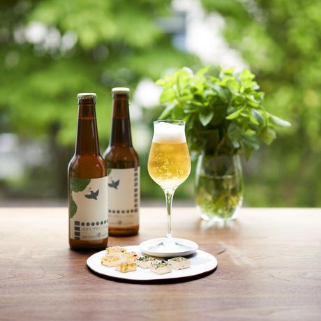 【夏を味わうオリジナルビール】せせらぎモヒートAleビール3本&おつまみセット