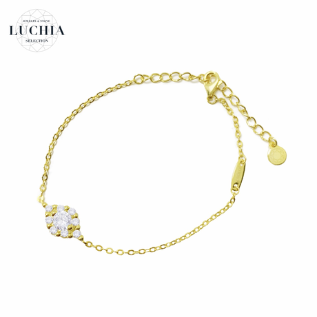 princess series bracelet type 1 gold