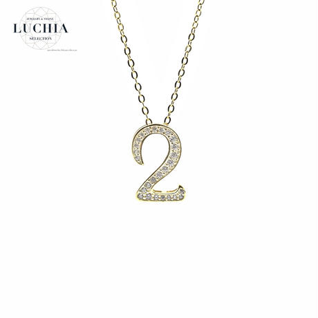 luxury series number necklace  No.2