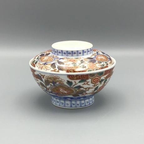 伊万里 金彩陰陽紋蓋茶碗(各)