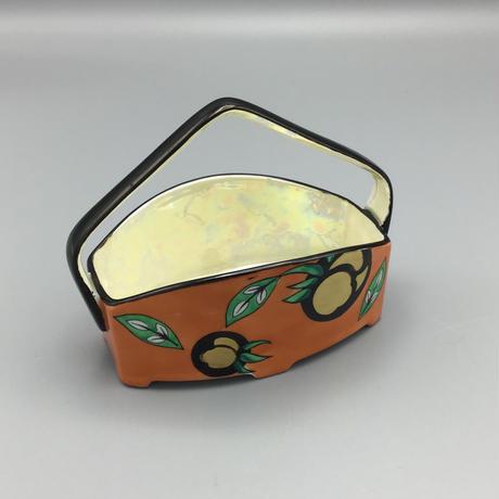 オールドノリタケ果実紋バスケット