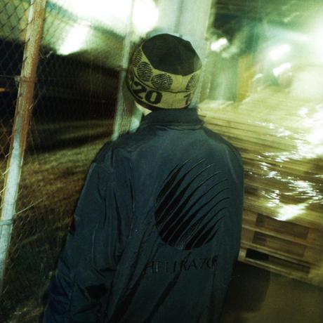 HELLRAZOR【 ヘルレイザー】x  FILA RUFF RIDE JACKET BLACK ブラック