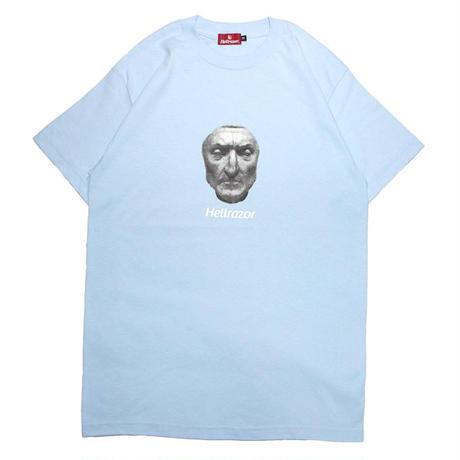 HELLRAZOR【 ヘルレイザー】DANTE SHIRT POWDER BLUE  Tシャツ ブルー