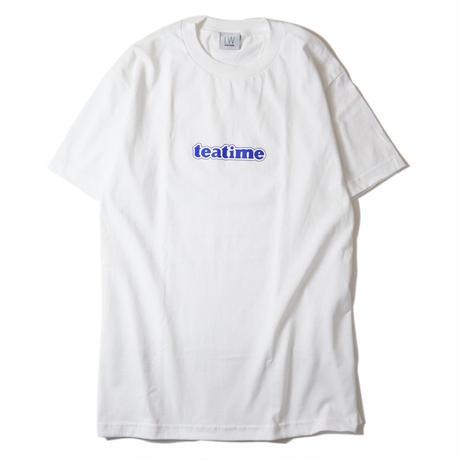 LUCKYWOOD【 ラッキーウッド】teatime TEE WHITE Tシャツ ホワイト