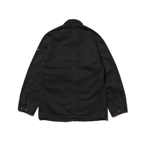 HELLRAZOR【 ヘルレイザー】PLATINUM PAINTER DENIM JACKET  BLACK デニム ジャケット ブラック