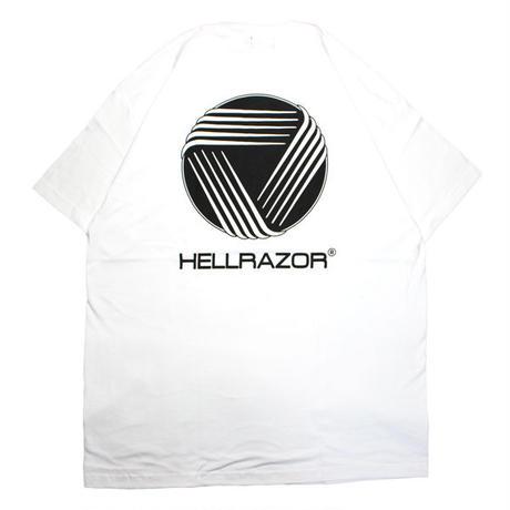 HELLRAZOR【 ヘルレイザー】WORLD CONVENTION CENTER SHIRT WHITE  Tシャツ ホワイト