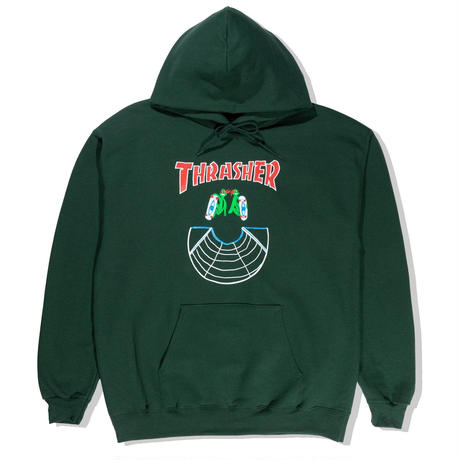 THRASHER【 スラッシャー】DOUBLES HOODIE FROST  パーカー フォスト