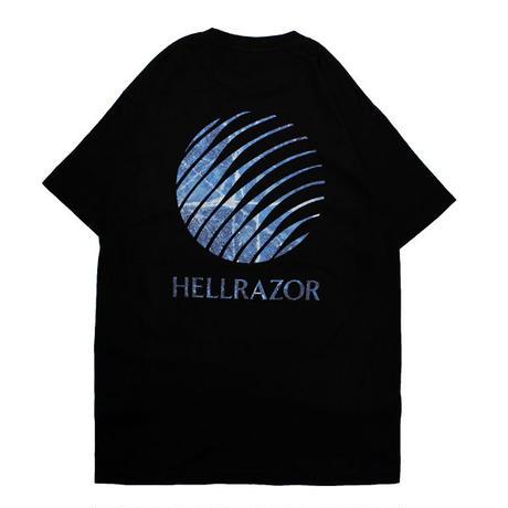 HELLRAZOR【 ヘルレイザー】INFERNO LOGO SHIRT BLACK  Tシャツ  ブラック