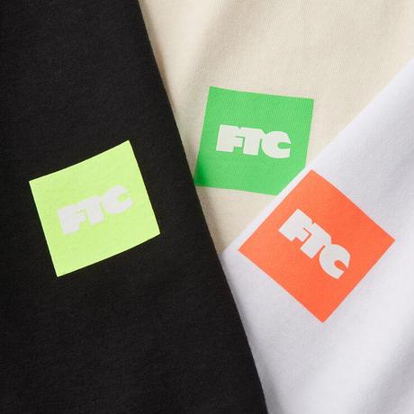FTC【 エフティーシー】FTC NEON BOX LOGO TEE BLACK Tシャツ ブラック