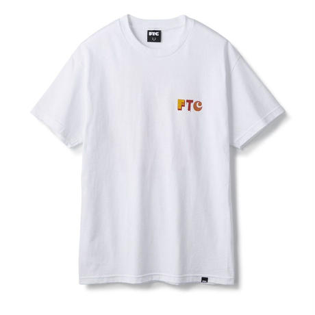 FTC【 エフティーシー】FOR THE CITY MB ( Artwork by Morning Breath) TEE  Tシャツ ホワイト