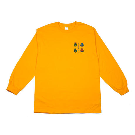 Studio Skateboards【 スタジオスケートボード】CORT OF ARMS L/S TEE YELLOW ロンT イエロー