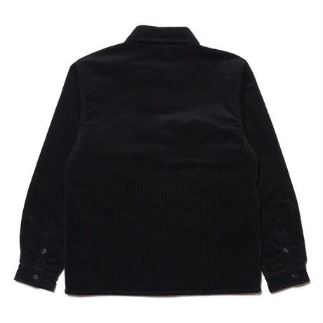 HELLRAZOR【 ヘルレイザー】CORDUROY SHIRT JACKET  コーデュロイ ジャケット ブラック