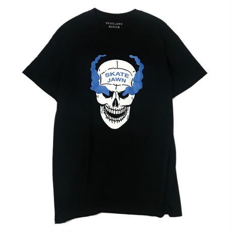 SKATE JAWN【 スケートジョン】SKULL TEE BLACK Tシャツ ブラック
