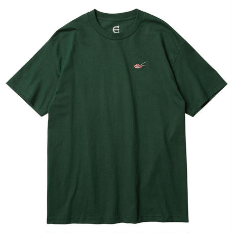 EVISEN【 えびせん】SUSHI STITCH Forest Green Tシャツ フォレストグリーン